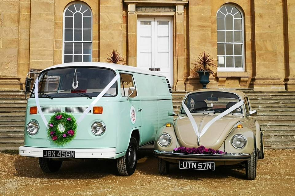 Love Bug Wedding Cars