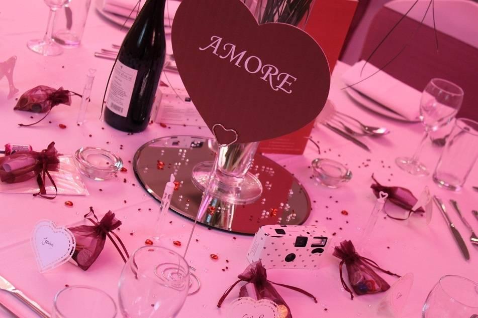 Table centre decorations