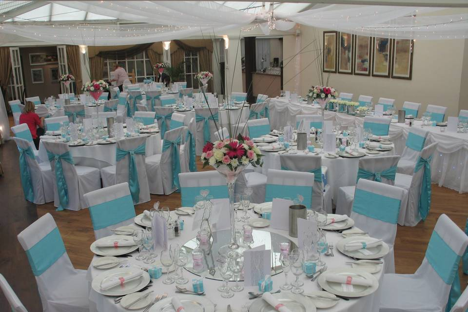Example of venue dressing