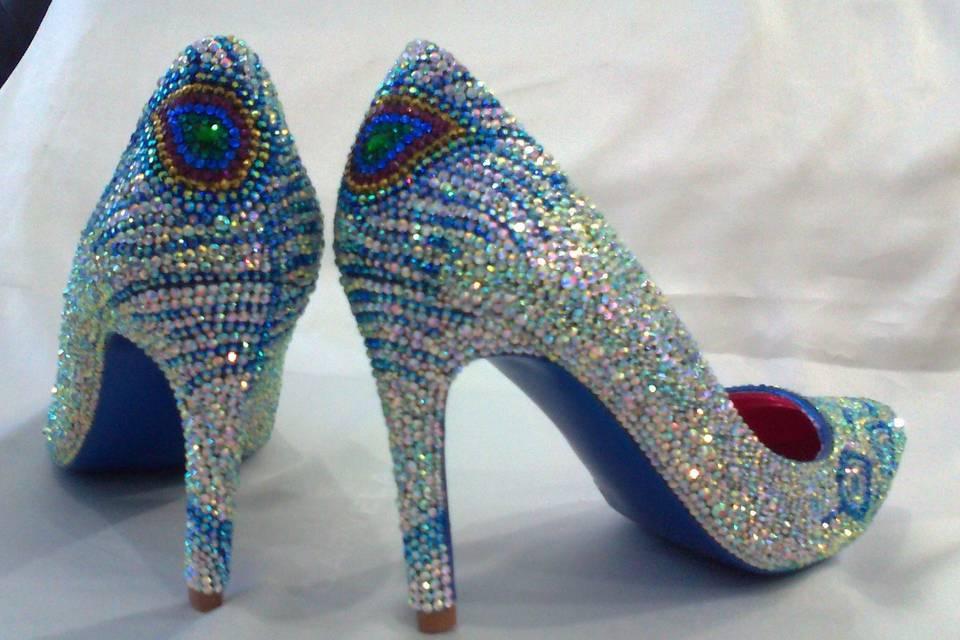 Crystal Shoes Designer Inspired