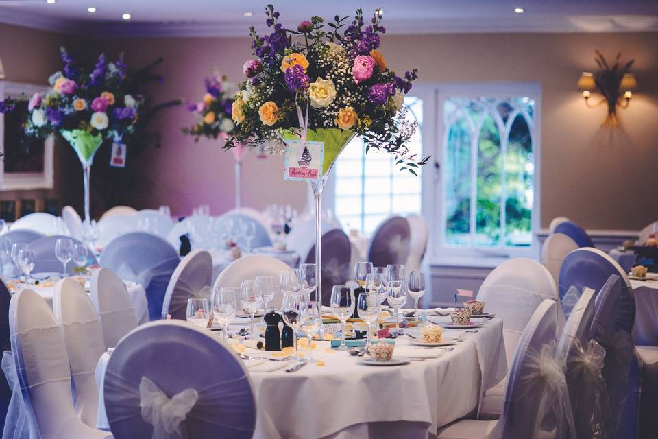 Banquet Room at Sheene Mill