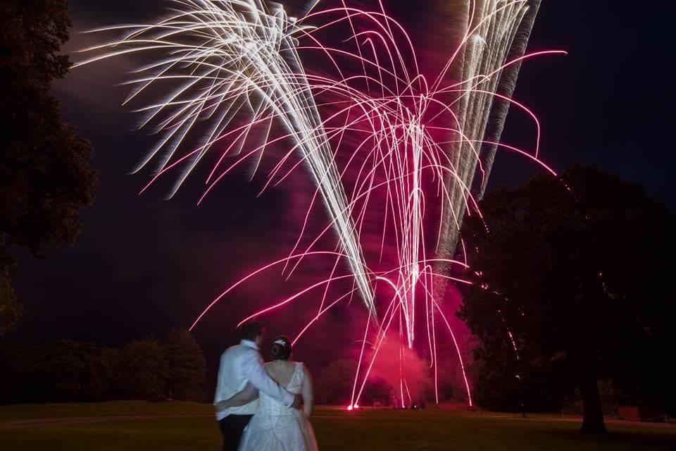 Vale Royal Abbey fireworks
