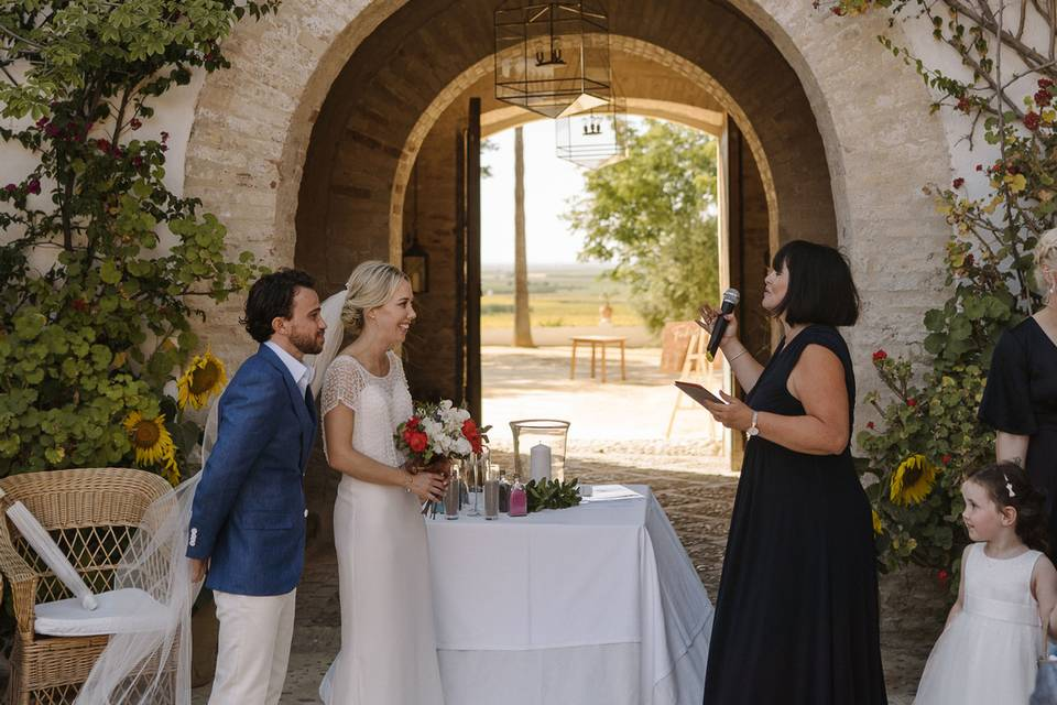 Ceremony in southern Spain