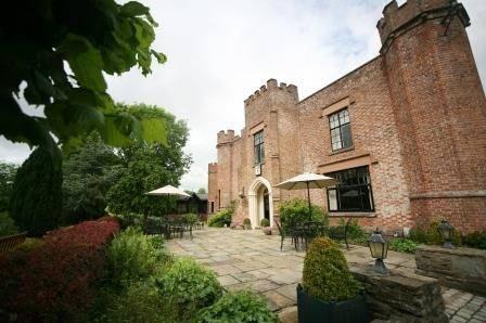 Romantic Manor House Entrance