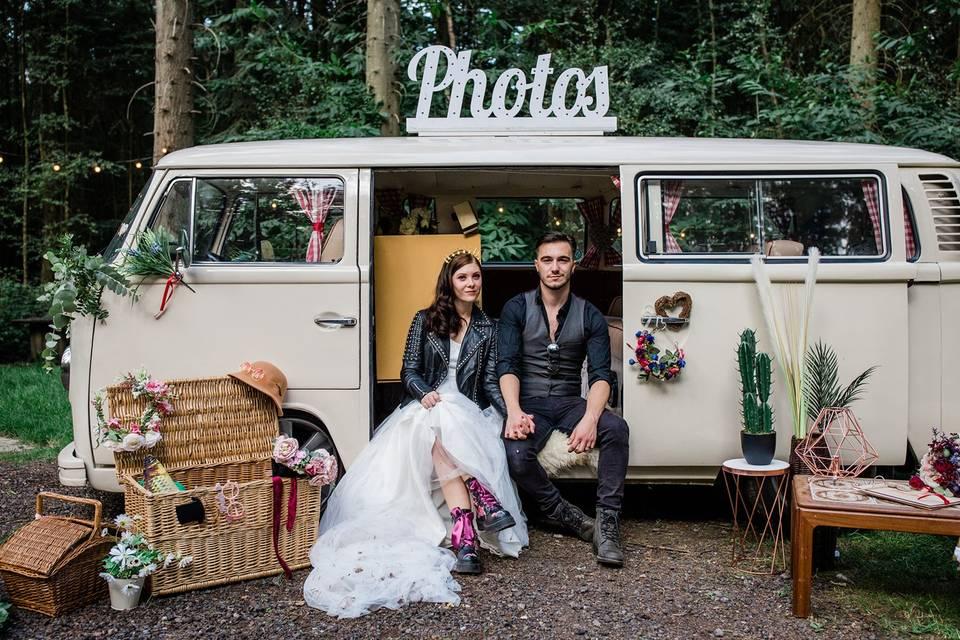 Campervan photobooth hire
