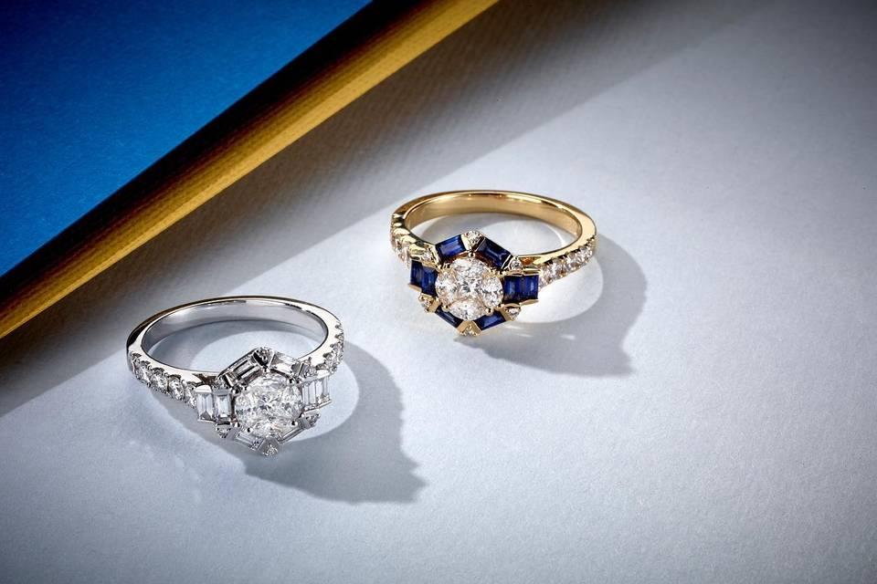 Engagement pieces