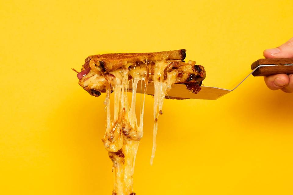 Dripping cheese
