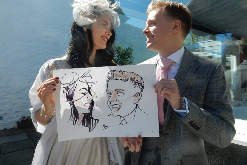 Allan McConachie Caricatures