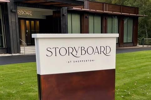 Storyboard at Shepperton
