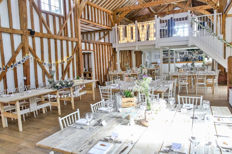 Milling Barn | Hertfordshire Wedding Venue