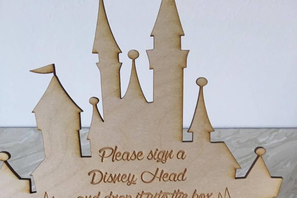 Personalised Plaque Detail