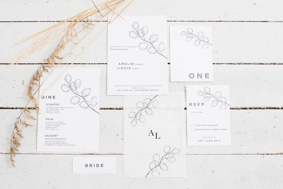 Beautiful White Wedding Suite