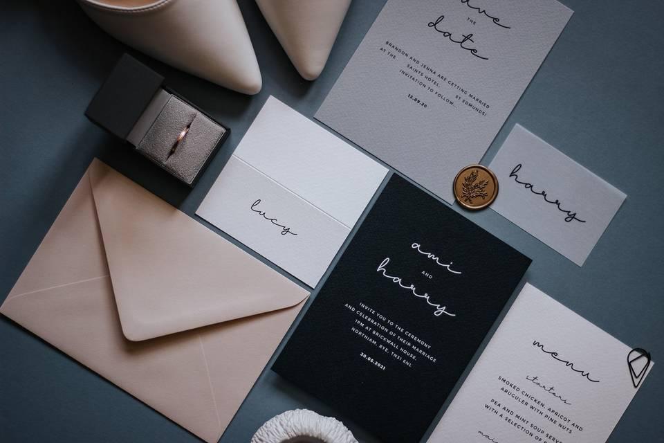 Wonder Wedding Stationery