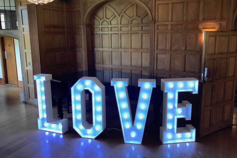 Full Colour LED Giant Letters