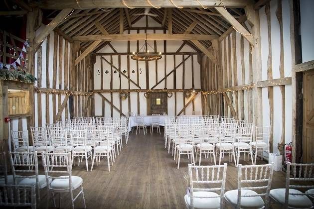 Ceremony in the Old Wooden Barn