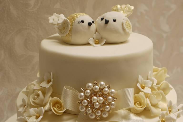 Ivory lovebirds
