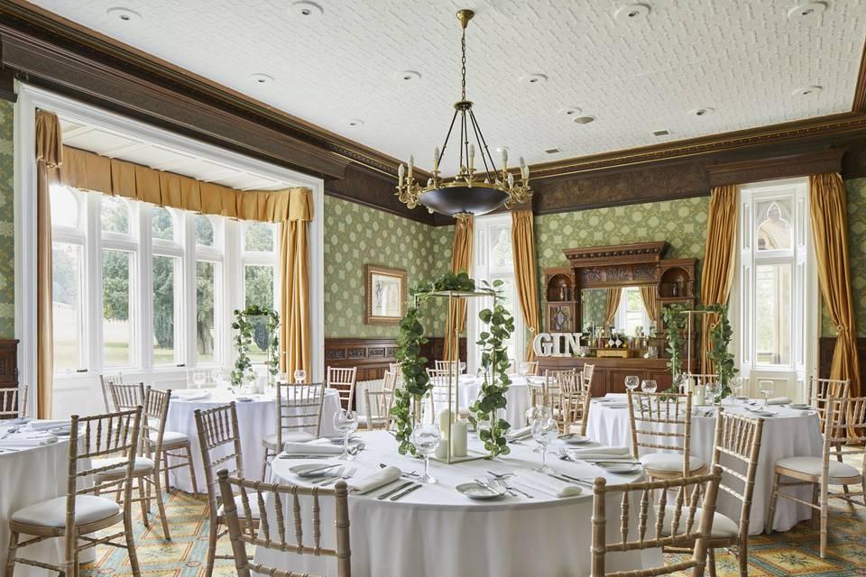 Breadsall Room intimate weddin