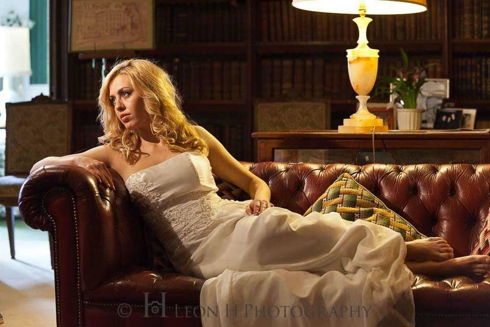 Leon H Photography - Bride portrait