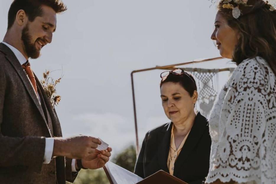 Romantic, Inclusive Celebrant Ceremonies