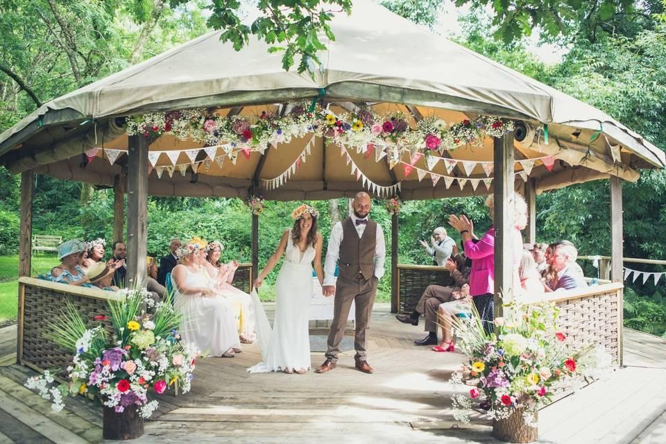 Cornish Tipi Weddings 31