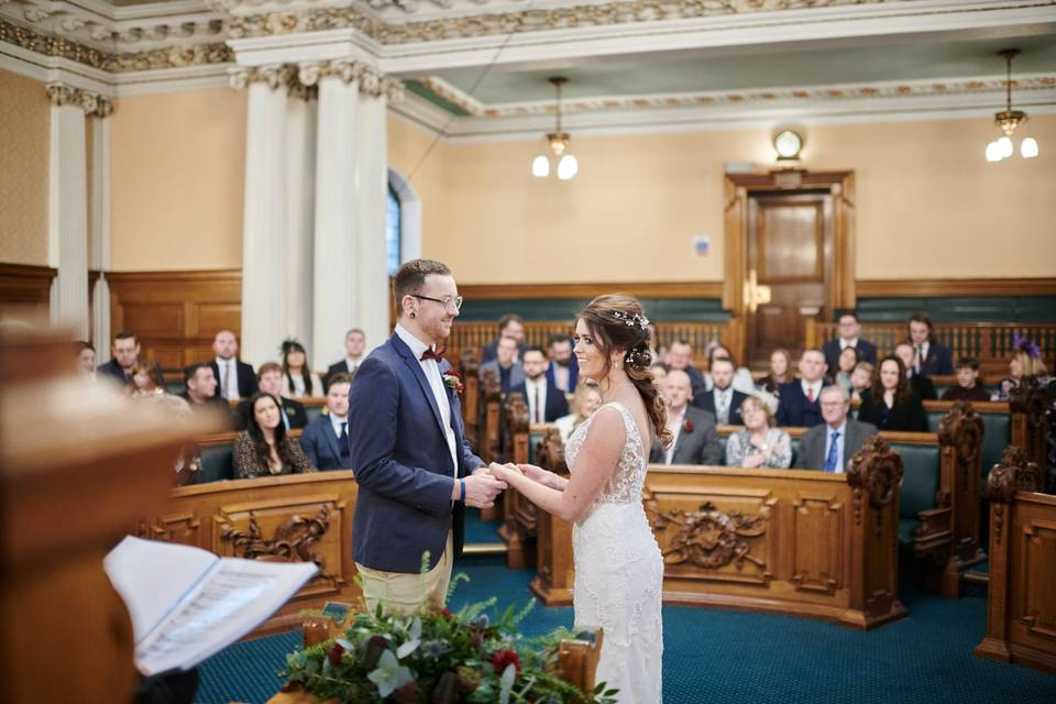 Council Chamber Ceremony