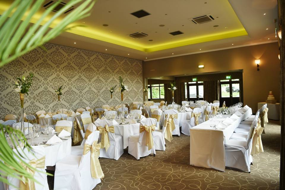 Wedding in the Bishops Suite