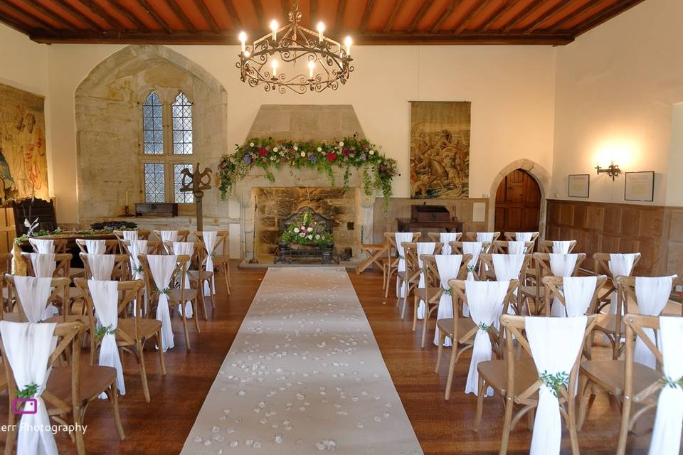 Ceremony in the Priors Chamber