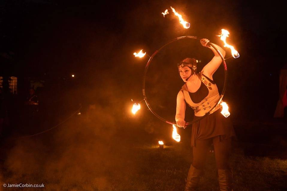 Fire show extravaganza
