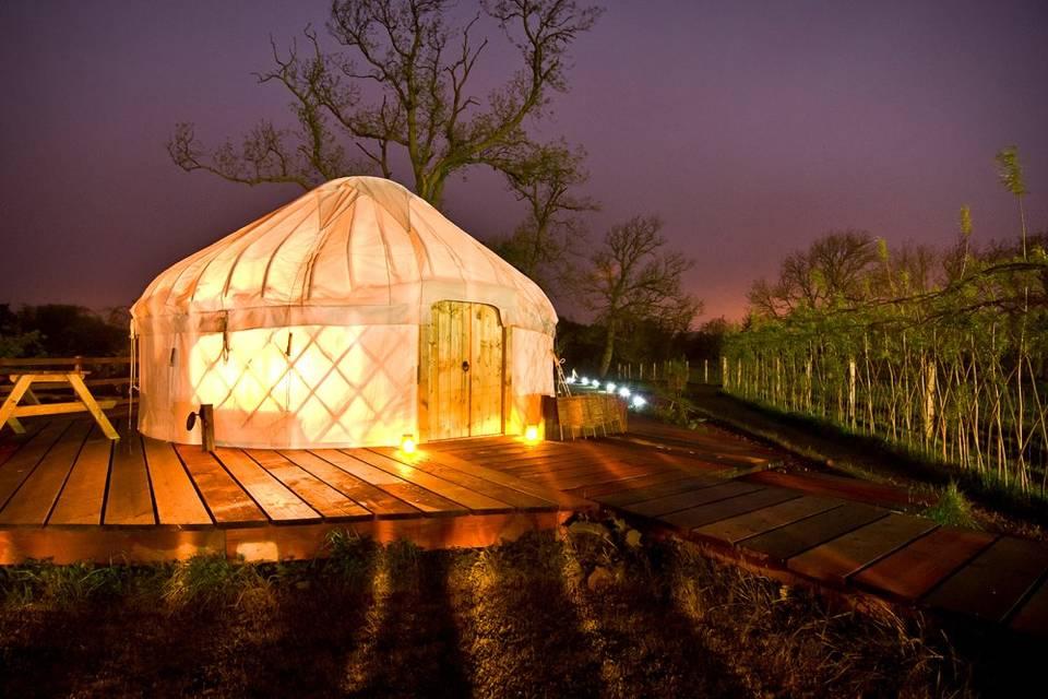 Red Kite Yurts