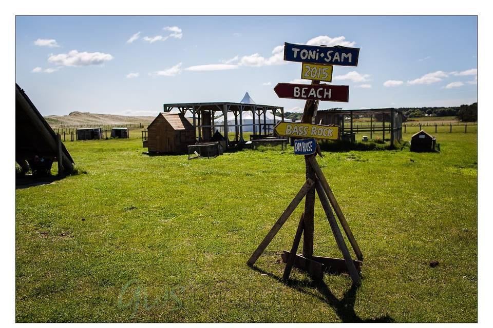 The Safari Tent site