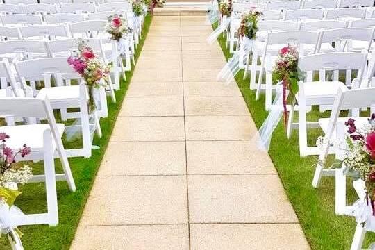 Wedding Gazebo at The Lawn