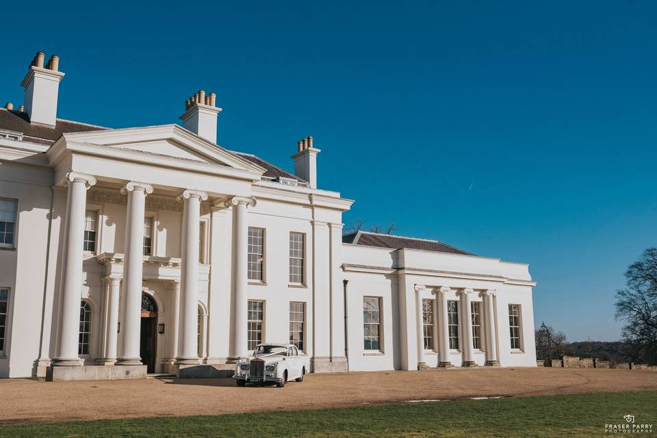 Hylands House and Grand Pavilion