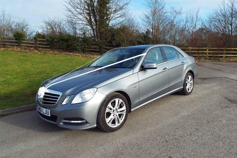 Our new E Class Mercedes