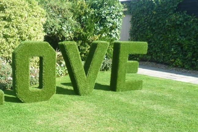 Garden LOVE Letters