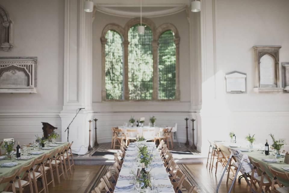 Anglican Chapel Reception