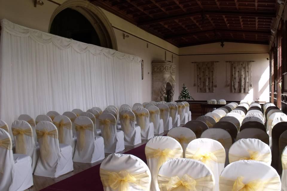 Wedding Chair Cover Hiring