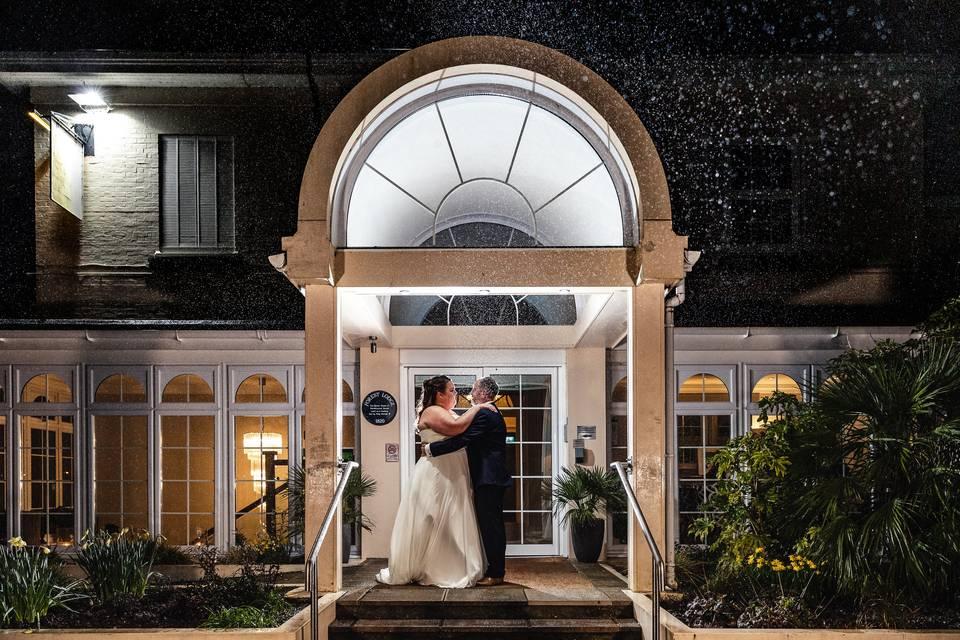 Forest Lodge hotel wedding