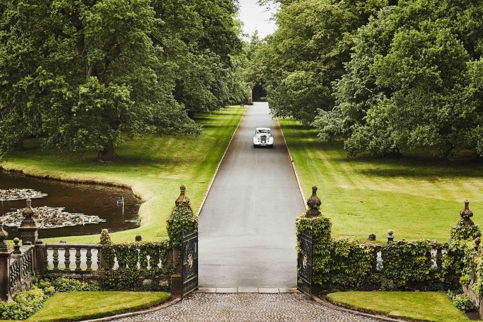 Dorfold Hall Driveway