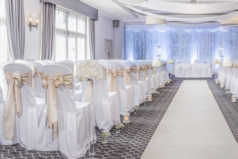Say 'I Do' in our refurbished Arden Suite
