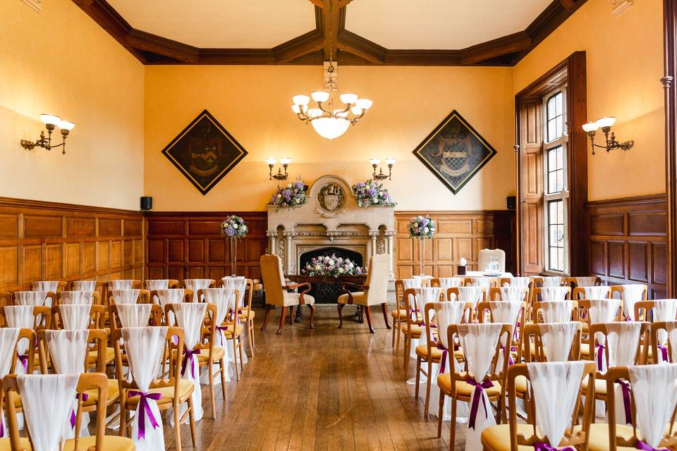 Ceremony in the Oak Room