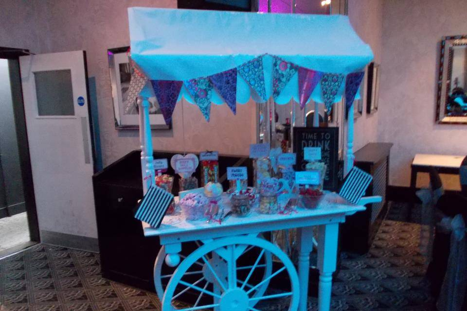 Candy Station Sweet Cart