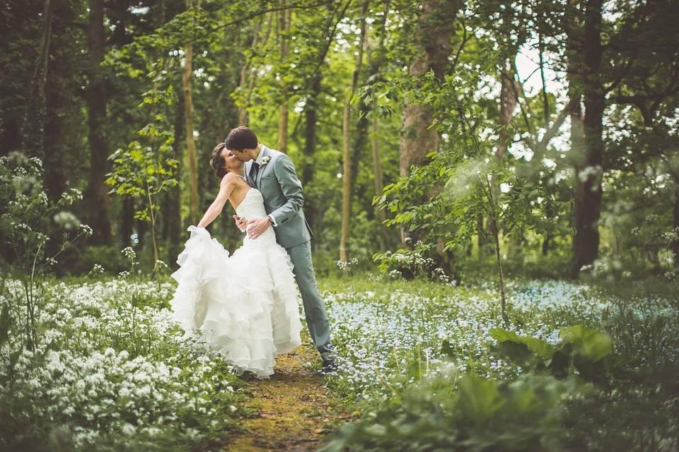 Woodland wedding paradise