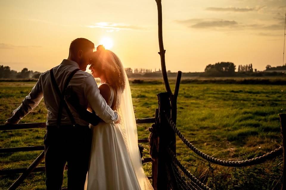 A twilight wedding