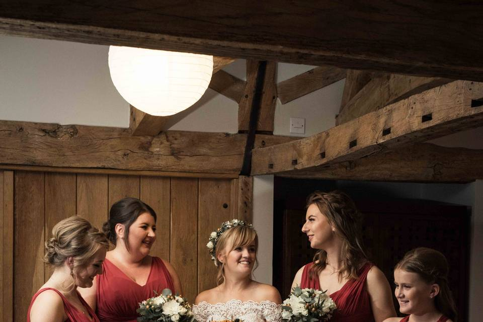 Winter wedding - Charly Woodhouse Photography