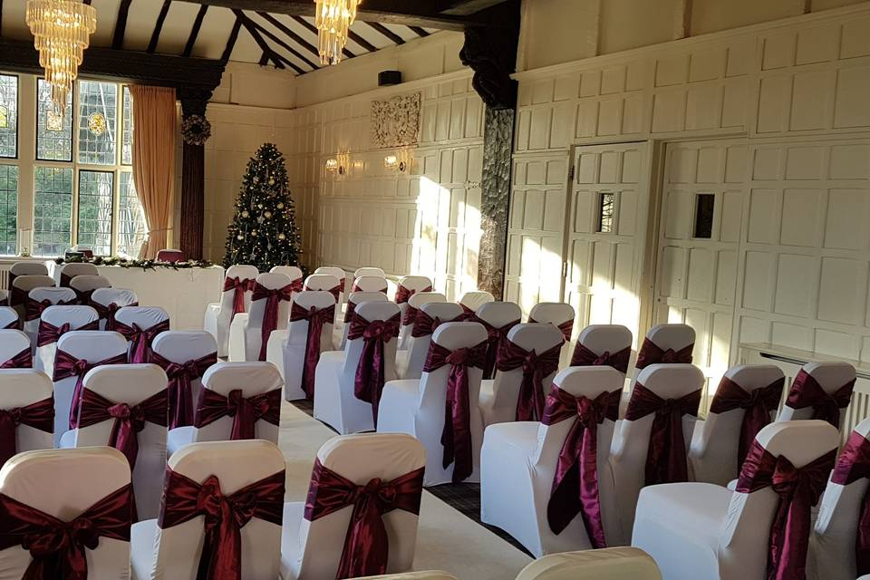 Ceremony at The Manor Elstree