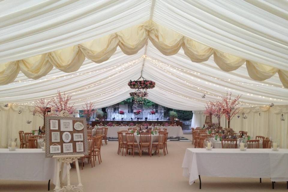 Crystal Marquee Hire