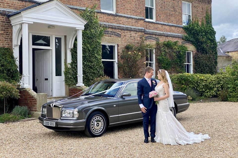 Shottle Hall Wedding Car