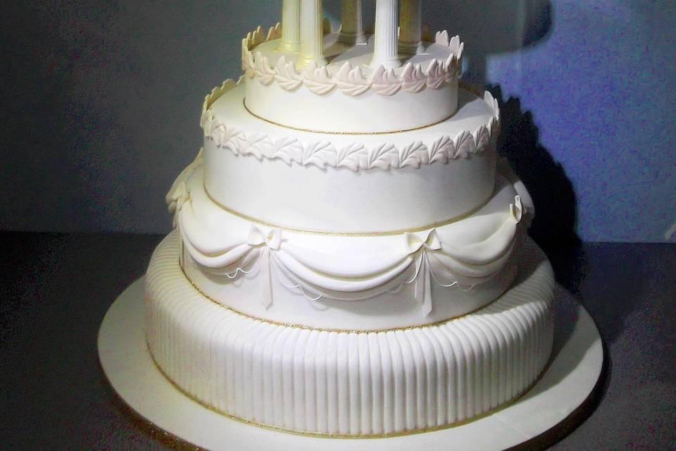 Princess Aurora theme cake