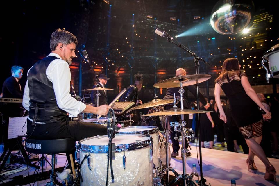 Wedding drummer