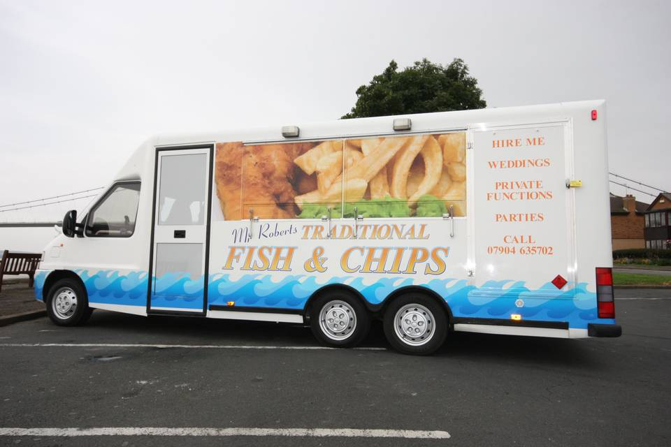 Mr Roberts Mobile Fish & Chips